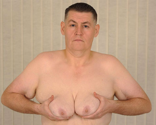 man_breast